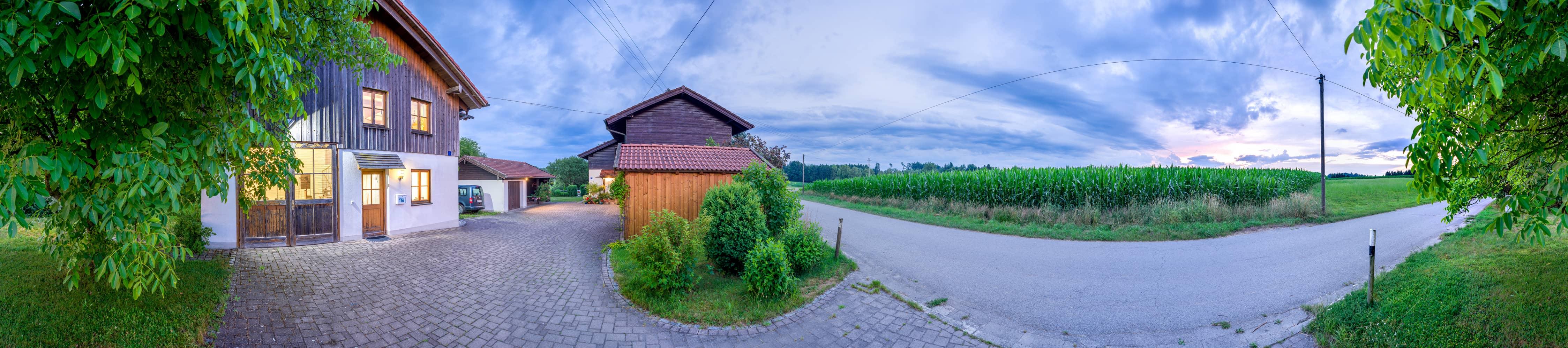 Panoramaaufnahme Studio Landschaft